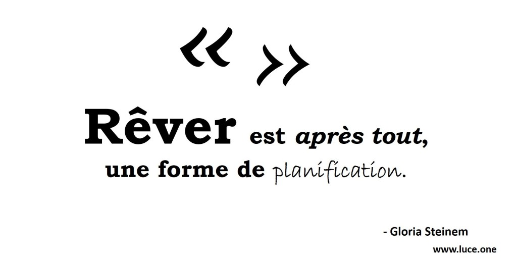 Gloria Steinem - citation rever