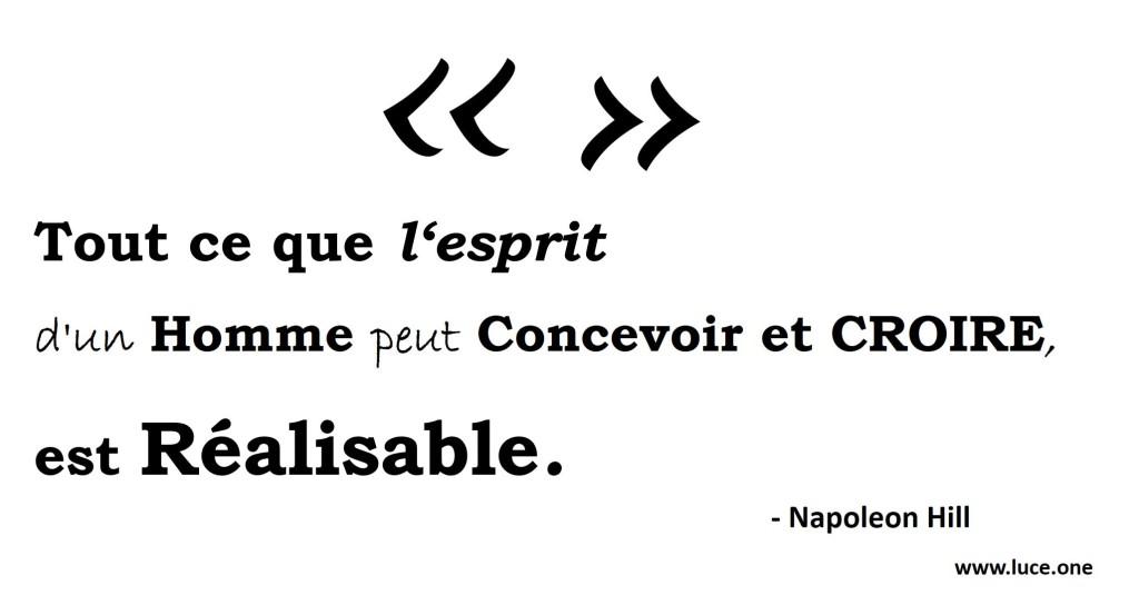 Napoleon Hill citation