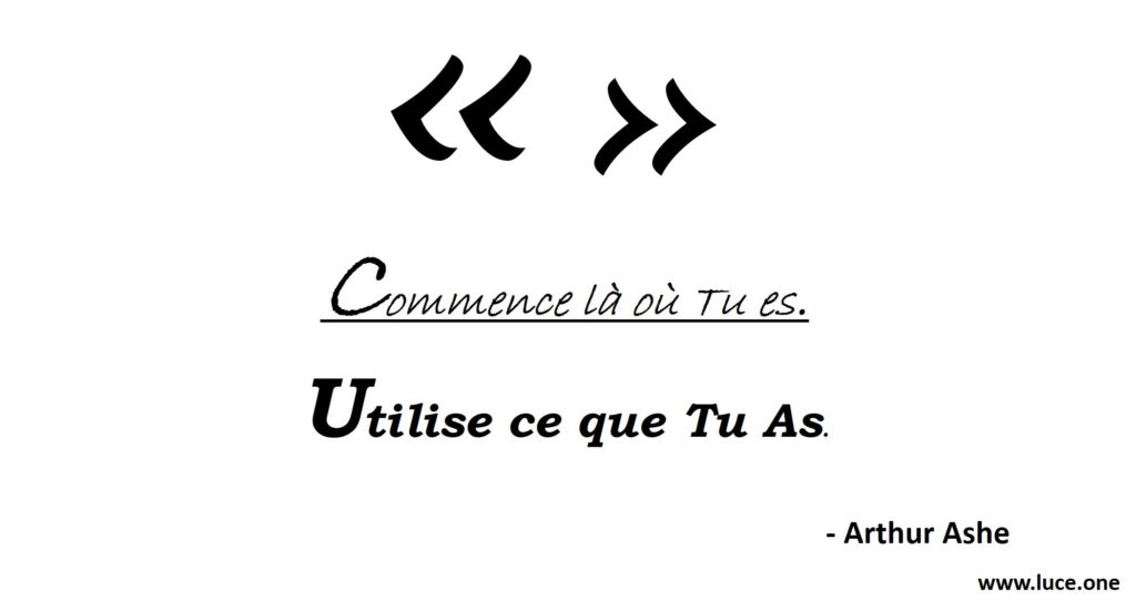 Arthur Ashe - perseverance