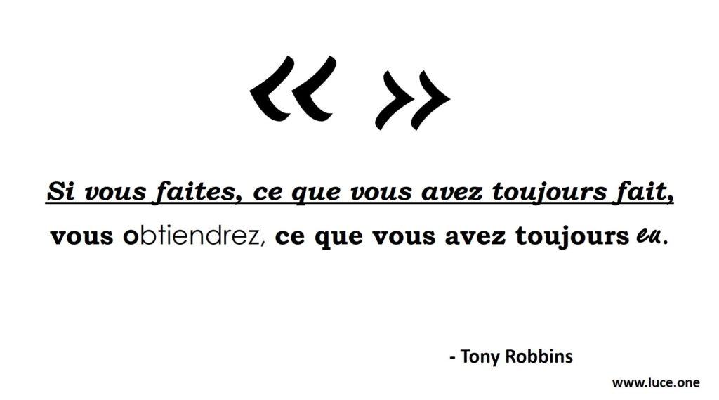 Action - Tony Robbins