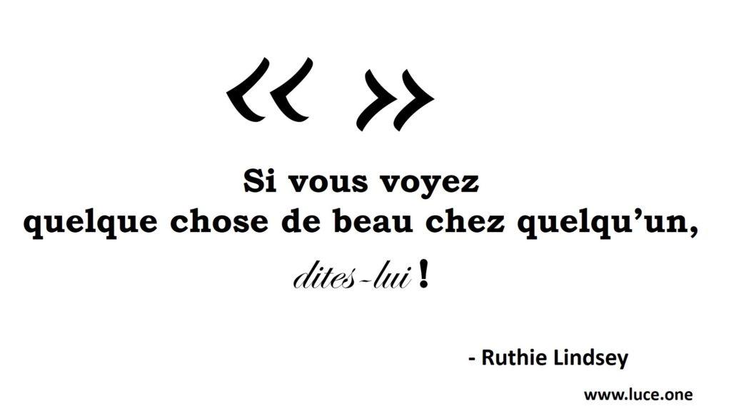 Beauté - Ruthie Lindsey