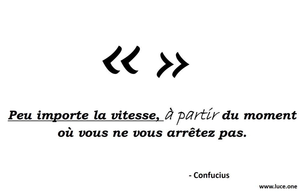 Confucius - perseverance