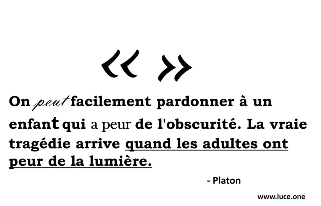 Platon - Peur