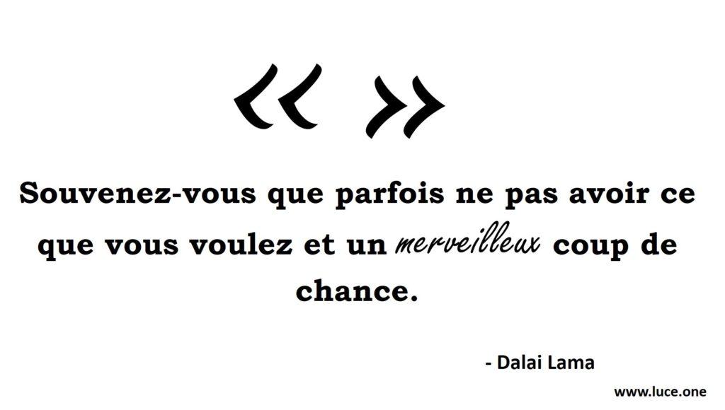 Chance - Dalai Lama