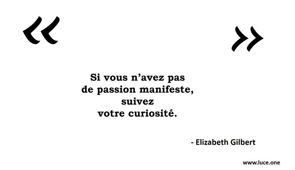 Suivez votre curiosité - Elizabeth Gilbert