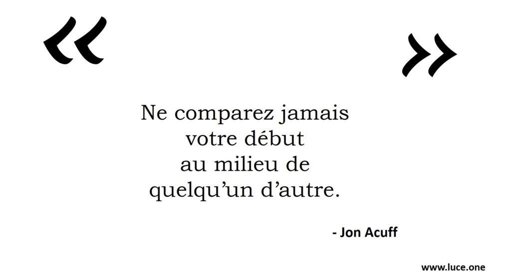Votre début - John Acuff