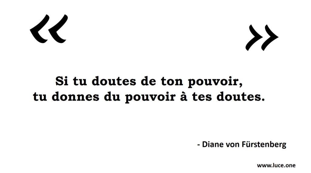 Les doutes - Diane von Furstenberg