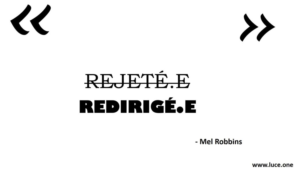 Rejete e Mel Robbins