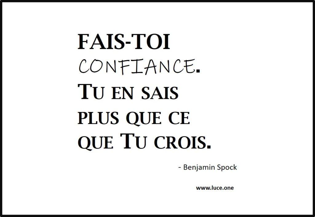 Fais-toi confiance - Benjamin Spock
