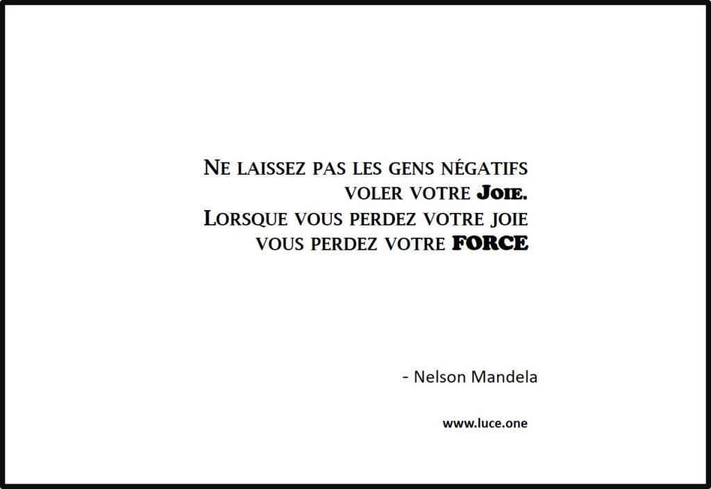 votre force - Nelson Mandela