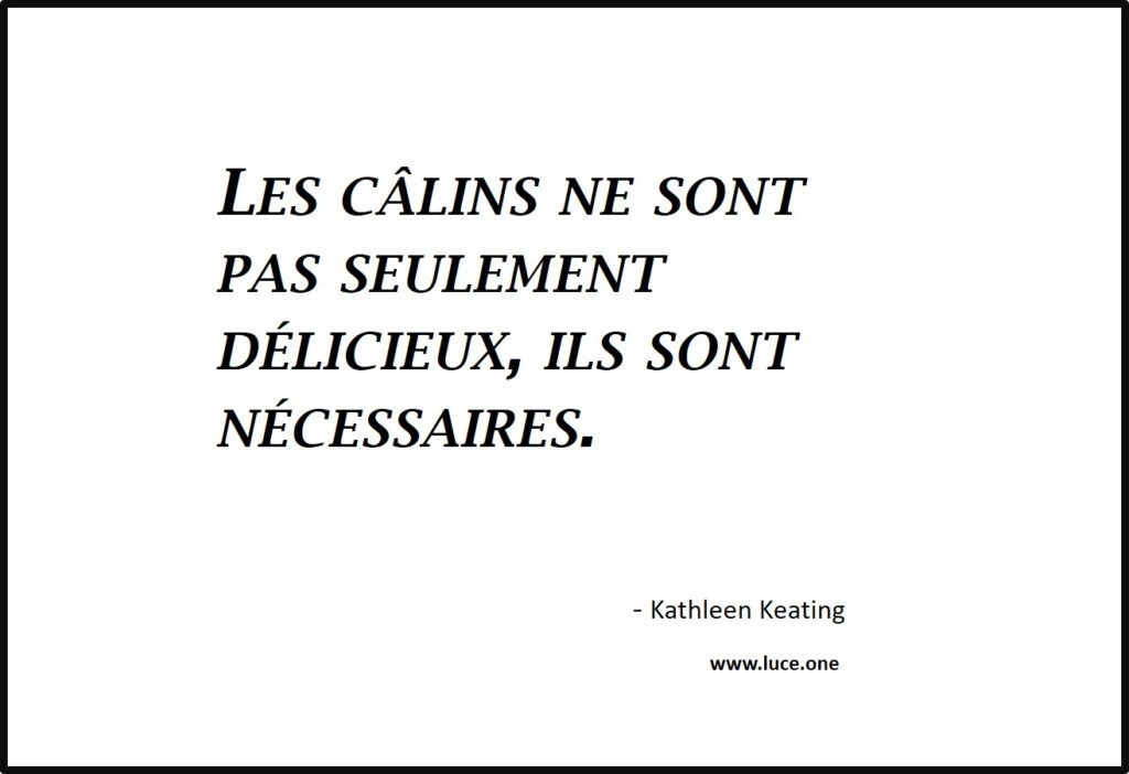 Les câlins - Kathleen Keating