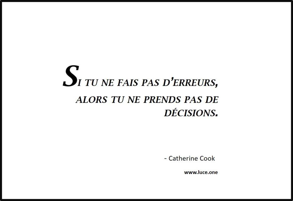Tu ne prends pas de décisions - Catherine Cook