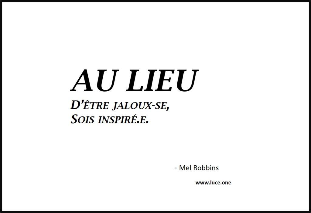 oux-se, sois inspirée - Mel Robbins