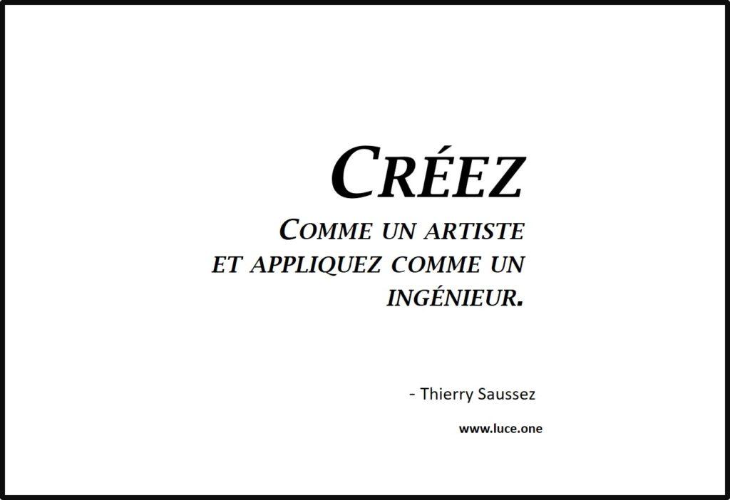 Creez comme un artiste - Thierry Saussez