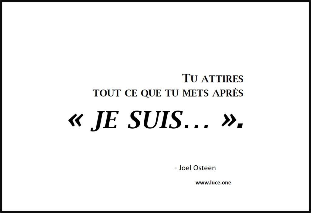 Je suis - Joel Osteen