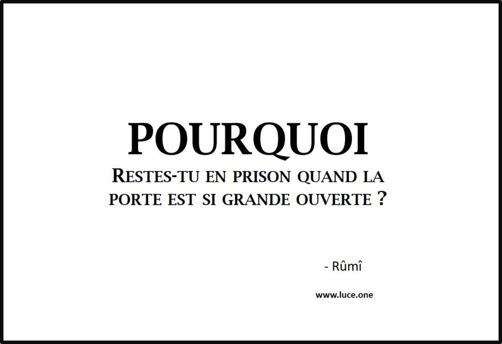 En prison - Rumi