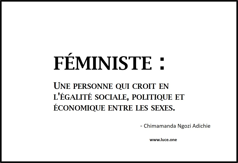 Féministe - Chimamnda Ngozi Adichie