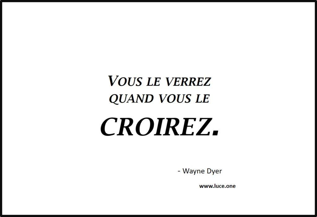 Vous le verrez - Wayne Dyer