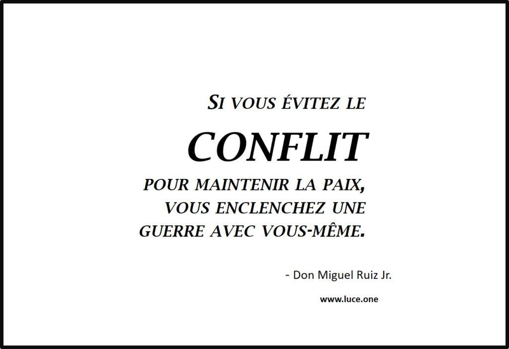 Eviter le conflit - Don Miguel Ruiz Jr
