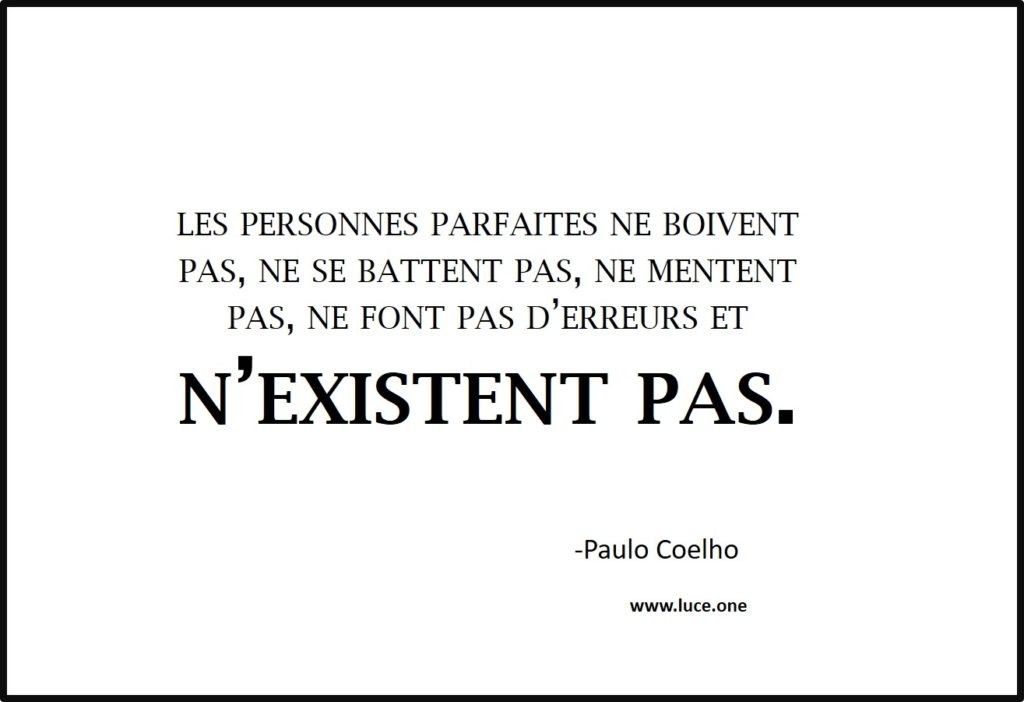 Les personnes parfaites - Paulo Coelho