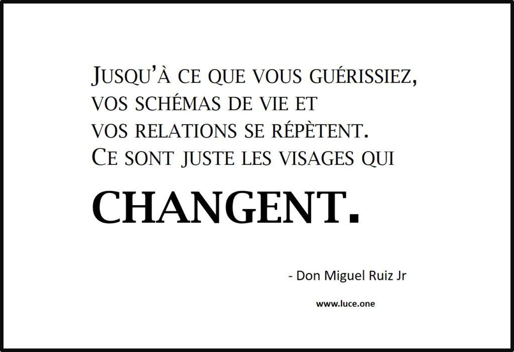 vos schémas de vie - Don Miguel Ruiz