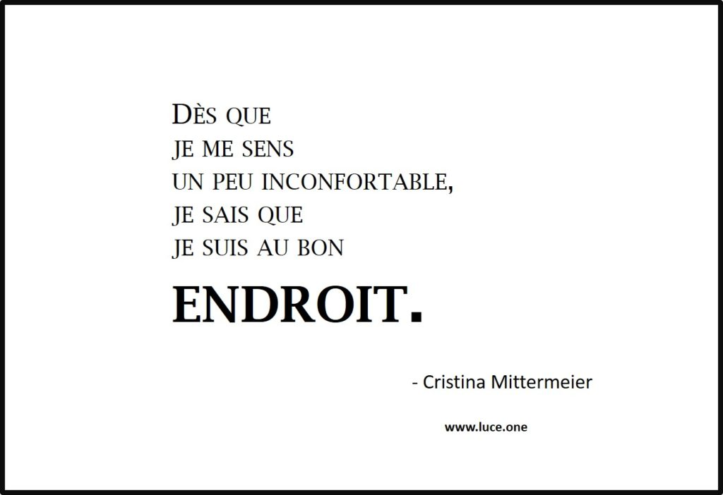 Inconfortable - Cristina Mittermeier
