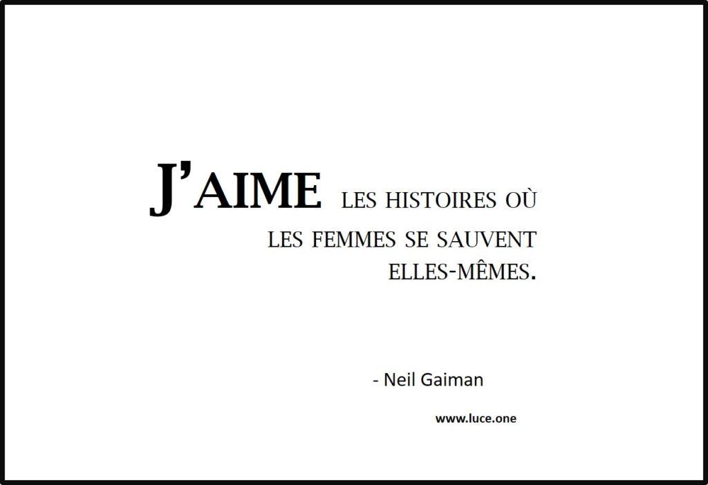 Se sauvent elles mêmes - Neil Gaiman
