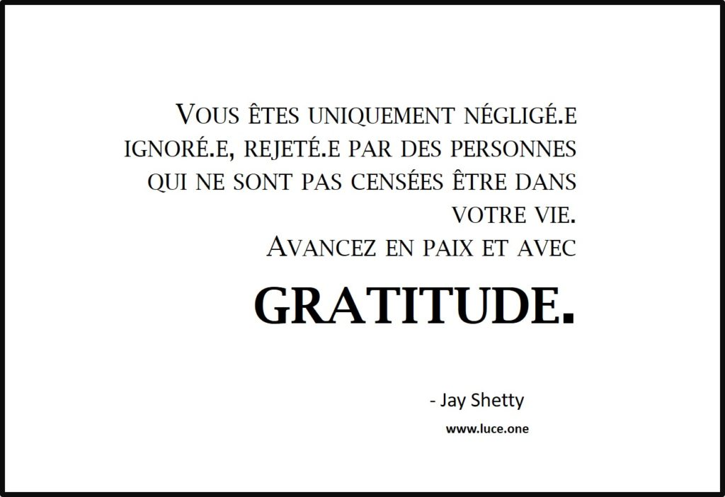Vous uniquement négligé.e - Jay Shetty