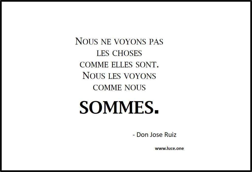 Comme nous sommes - Don Jose Ruiz
