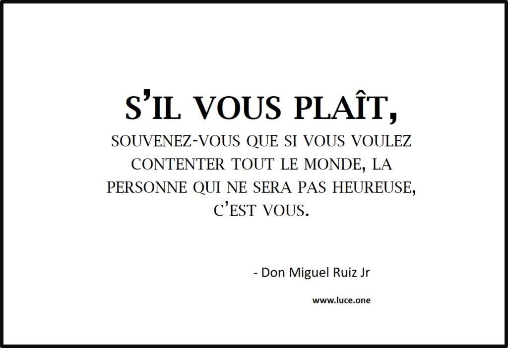 Contenter tout le monde - Don Miguel Ruiz Jr
