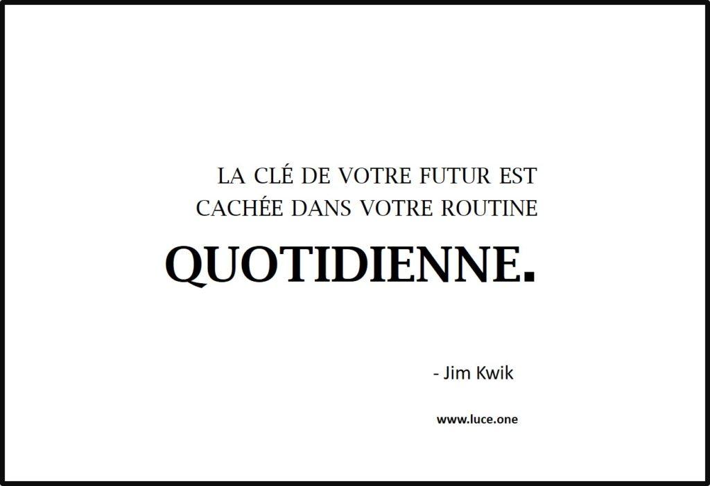 la clé de votre futur - Jim Kwik