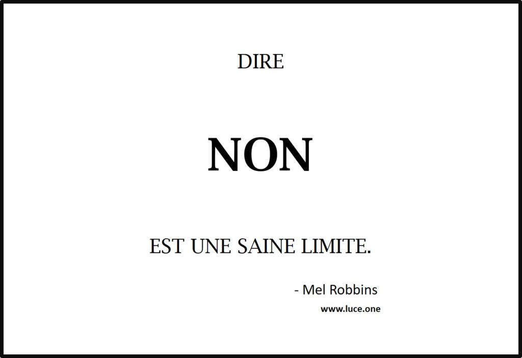 Dire non - Mel Robbins