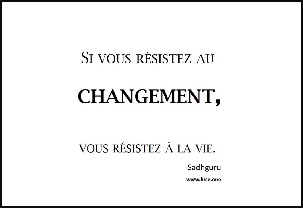 Resister à la vie - Sadhguru