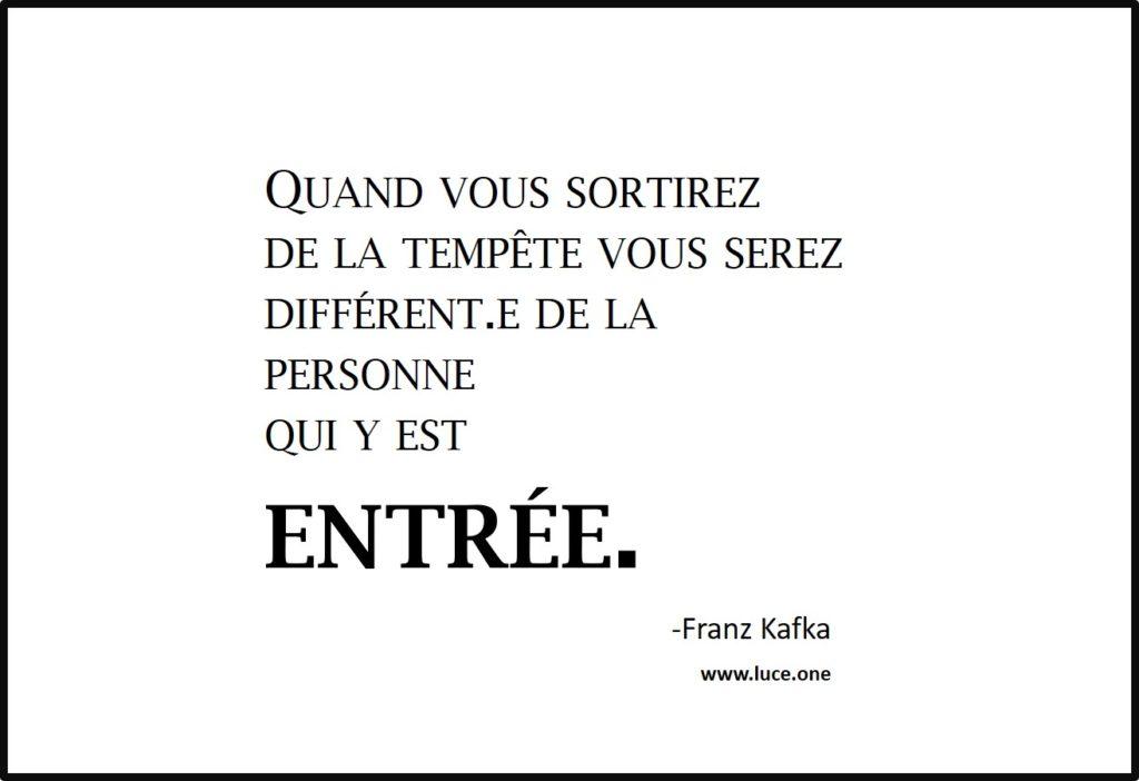 ortirez de la tempete - Franz Kafka