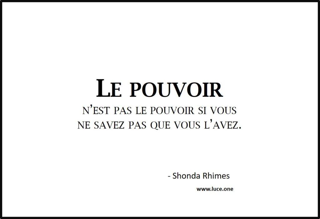 le pouvoir - Shonda Rhimes