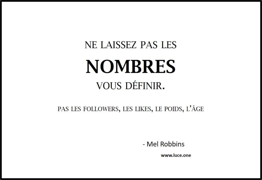 Les nombres - Mel Robbins