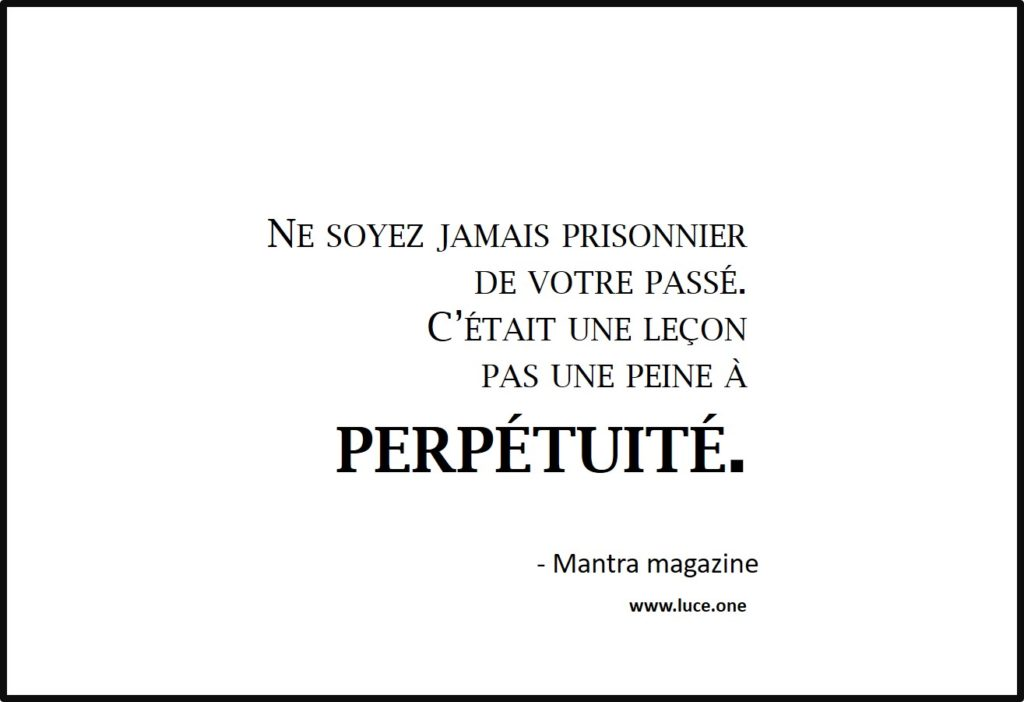 Peine a perpetuité - mantra magazine