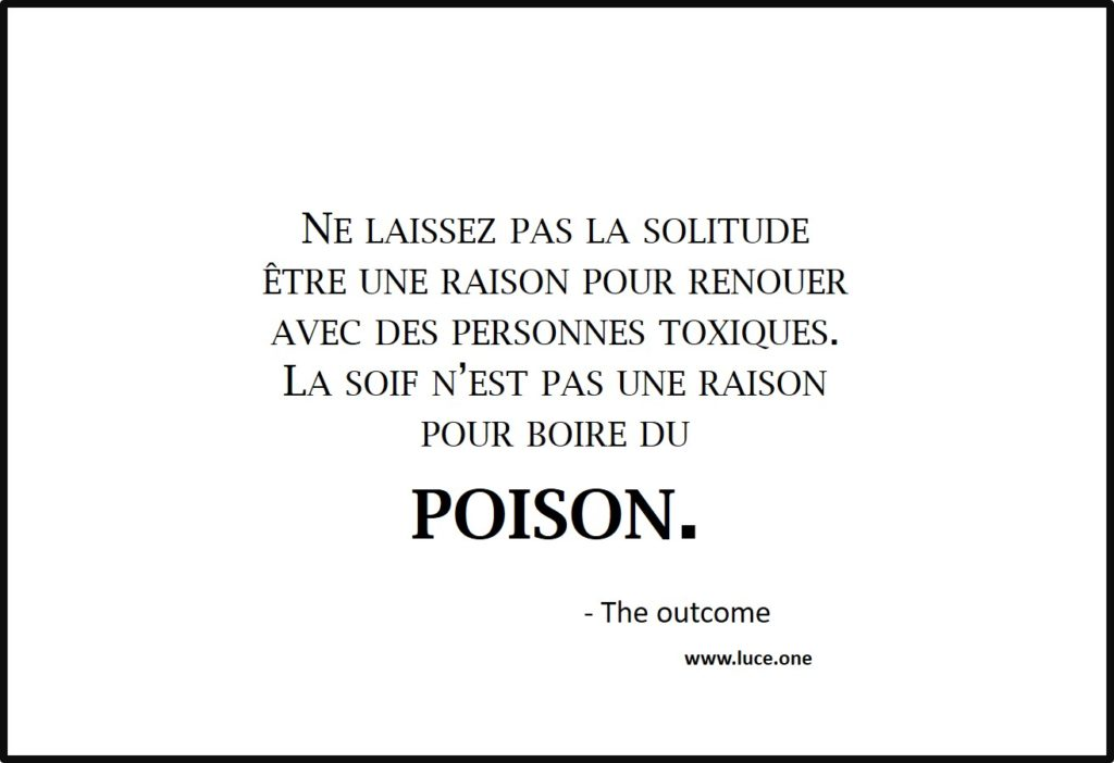 Poison - the outcome