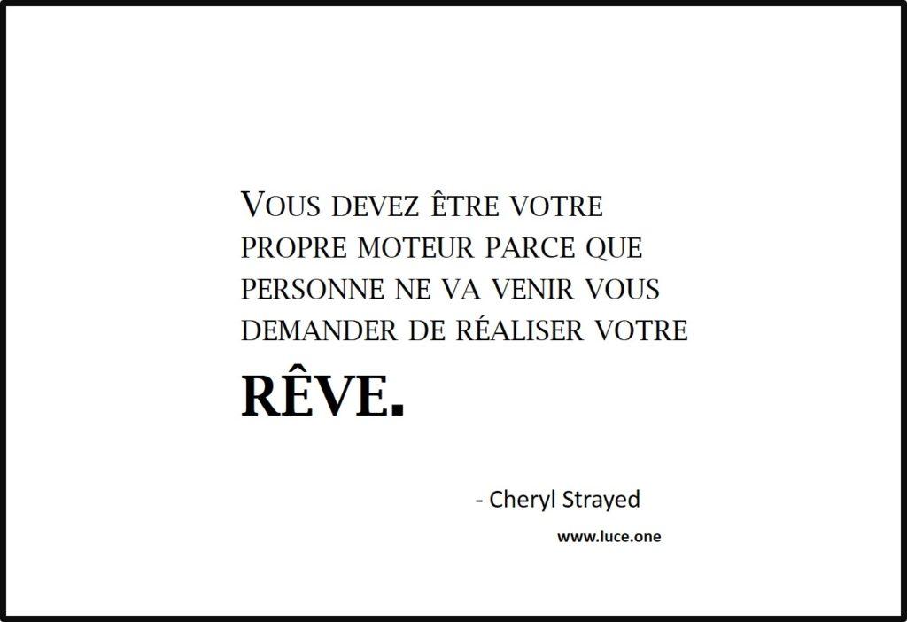 votre propre moteur - Cheryl Strayed